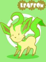 Leafeon by SteveHoltisCool