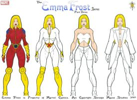 Emma Frost Series: Part Three by SavageMouse