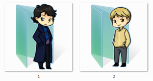 Bbc Sherlock Folder Icons by Ginokami6