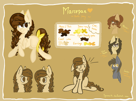 Marcepan - reference sheet by iguana14