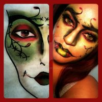 Face Art by xxtretrexx