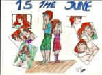 IchiHime calendary june15 by FioraCabazza