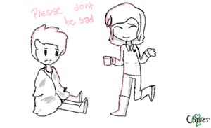 Dont be sadddd by xXClovertheCat52Xx
