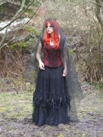 Gothic Girl - Stock 15 by Rosenrot-Photography