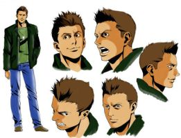 Supernatural-Dean colors by FactionFighter