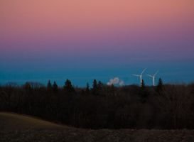 Wind Energy - Sunset by quasi-Virtuoso