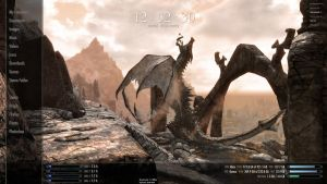 Skyrim Rainmeter - Custom by IntelRobbie