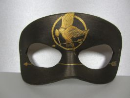 Hunger Games inspired mask by maskedzone