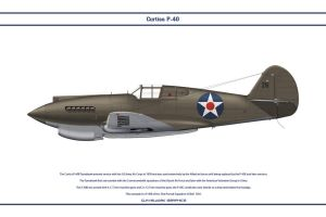 P-40B USA 33rd PS 1 by WS-Clave