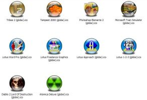 Misc Apps 5 Icons -Globe- by jamest