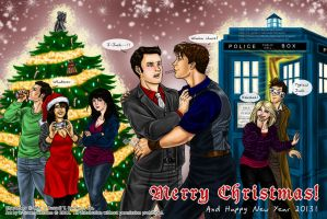 Christmas in Torchwood-style by k-tiraam