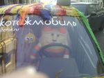 Knitted cat driver by BerkanaonDev