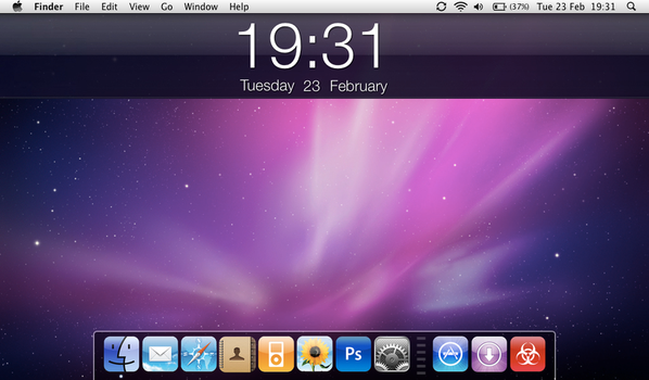 'iphone' style osx by spekerwizard