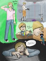 Pewdiepie and Cry by MadamMibale