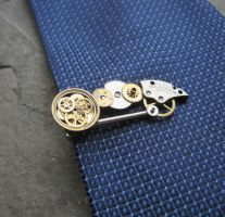 Tie Clip No 28 by AMechanicalMind