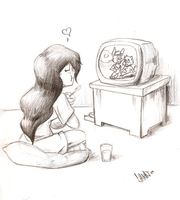 Cartoon time by Silent-nona-light