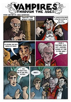 Vampires Through The Ages by cool-slayer