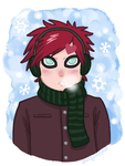 Snow Muffin by Sandy--Apples