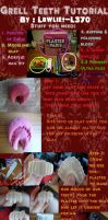 Grell teeth tutorial by saara-sama