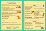 Fantasy Theme Park - Juice Bar Menu 2 by LavenderRanger