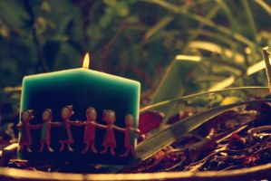 All together candle by i-e-a-i-a-i-o