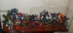 My Transformer collection_1 by Animewave-Neo