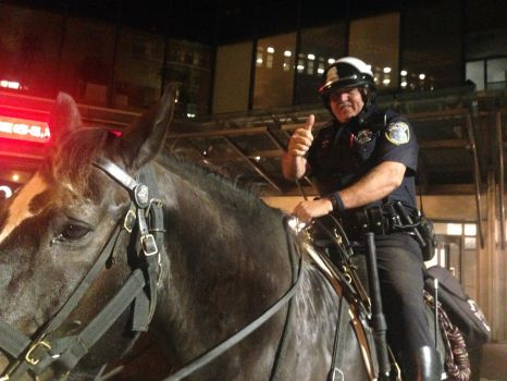 Milwaukee Police Mounted Patrol by Grand-Lobster-King