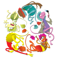 Fraggle Rainbow by real-faker
