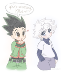 Amazing Killua by Eevie-chu