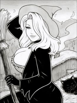 Cute Witch by rplatt