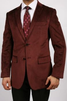 Maroon Wine Color Luxurious Mensusa Velvet Suit by mensusasuits