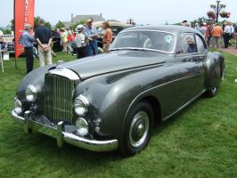 1952 Bentley Continetal Type R Coupe, Mulliner by Aya-Wavedancer