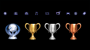 Playstation Trophy Collector Custom Dynamic Theme by DEVILUSHNINJA