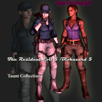 The Resident Evil 5 /Biohazard 5 Taunt Pack (DL) by henryque999
