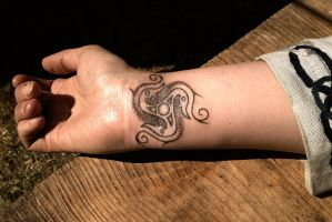 Viking tattoo by Stormpod