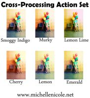 Cross processing action set 6 by chupla