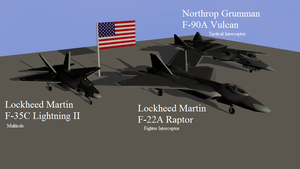 Aircraft pack 2 -United States of America by Marksman104