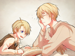 Hetalia UsUk by Panther-fam