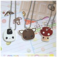 More Plastic Necklaces by Keito-San