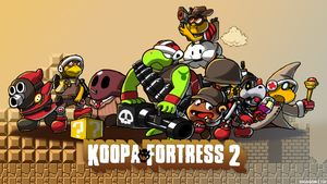 Koopa Fortress 2 by Dragonith