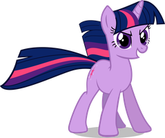 Twilight Sparkle - For Equestria With Shadow by GenericPonyName120