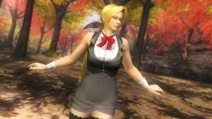 Dead or Alive 5 Ultimate -School Uniforms- Helena by Irokichigai01