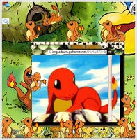 Charmander Shimeji by Pythonidae