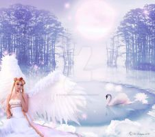 Swan Princess by MDBOOKCOVERS