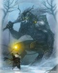 St Nick vs the Yule Lord by justjingles