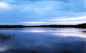 Lake in Finland by rayxearl
