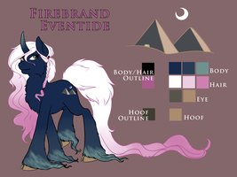 Firebrand Eventide Reference Sheet by XNedra22