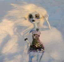 Monster High Custom Wampa by mermaid-splash
