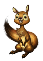 01. Suri Squirrel by pangketepang