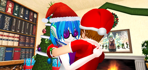 Holiday Hug For A Swell DJ by Mario-McFly